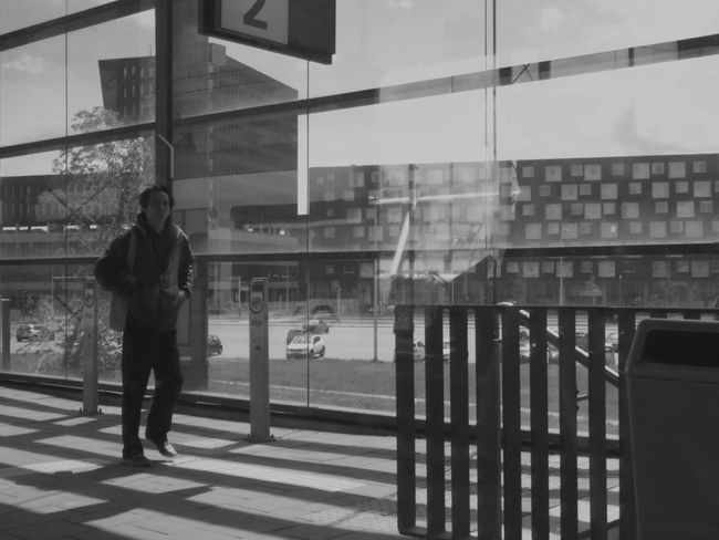 Running Late Public Transportation Streetphotography The Traveler - 2015 EyeEm Awards Light And Shadow Blackandwhite Creative Light And Shadow