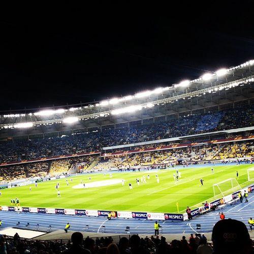 Dynamo Fiorentina Ukraine Kyev Nsk Olimpiyskiy Жаль что не победили, но 1-1 не плохой счёт учитывая что играли с сильной командой, ждём результатов на следующей неделе в Италии