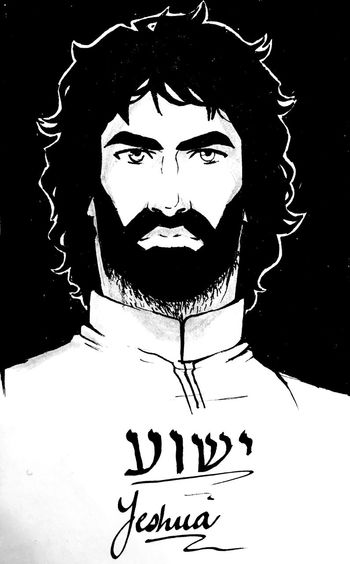 It's been a while since posting so I decided to share something different again: one of my sketches of Christ Yeshua (Jesus). I really love doing inking on my spare time. If you guys have any suggestions on pen brands or the right kind paper, please let me know! Ink Drawing Pen Religious Art Christian Christianity Hebrew Hebrew Letters Hebrew Calligraphy Messianic Jesus Christ Yeshua FreehandDrawing