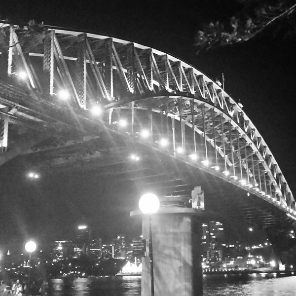 Sydney Harbour Bridge Architecture NSW night