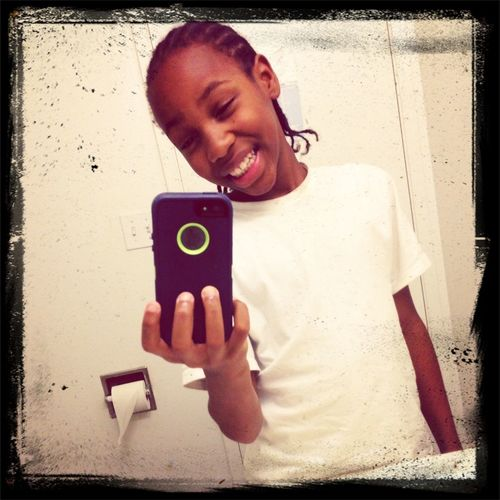 when i first got my iphone 5..lol I Was super happy