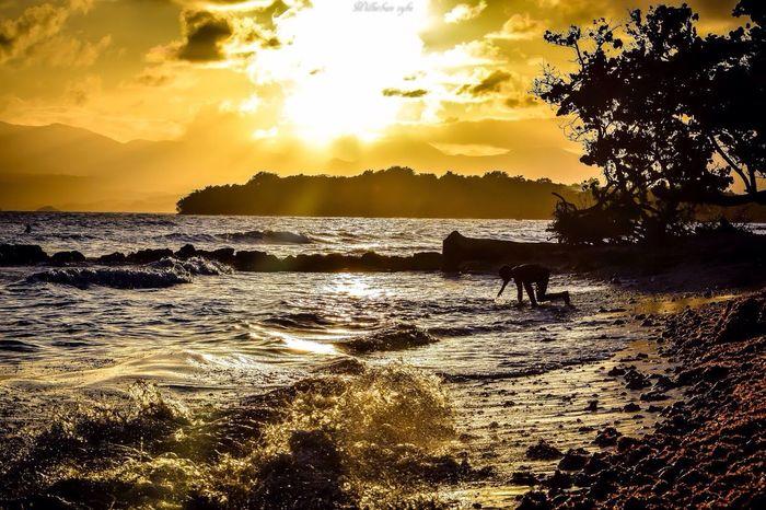 Caribbean Westindies_pictures Urbanvybz Guadeloupe Gwada  WestIndies Hello World Photography Paysage Legosier Plage Sun Sunset Antilles