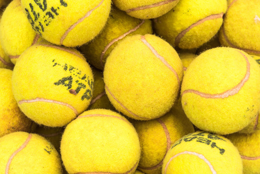 Tennis Club Abundance Backgrounds Ball Bouncing Tennis Ball Clay Court Clay Courts Clay Tennis Court Close-up Day Large Group Of Objects No People Red Clay Retail  Sphere Sport Tennis Tennis Ball Tennis Court Tennis Court Carpet Tennis Court Line Tennis Match Tennis Net Yellow