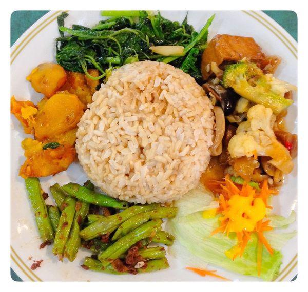 Traditional vegetarian dish , signature of 18 years . Vegetarian Dish Traditional Vegetarian Dish Vegetarian Rice Dish Asian Vegetarian Rice Dish Vegetarian Food