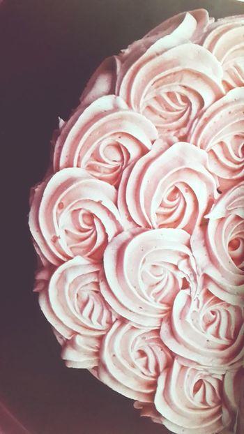 Millennial Pink Cakestagram Cream Rose Babypink Sweet Treats