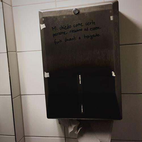 Text Bathroom Close-up No People Switzerland Words Quotes Citazioni Frasi Tagsforlikes Like Like4like Photography