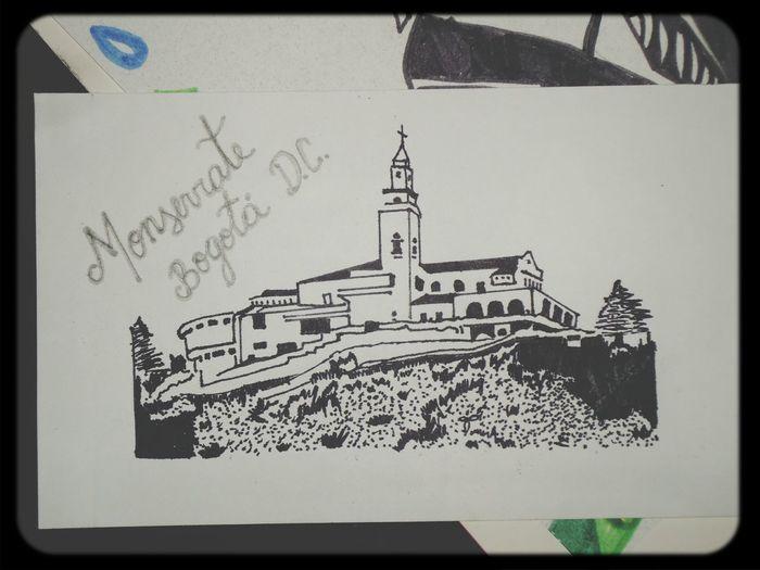 Postal Dibujo Bogotacity