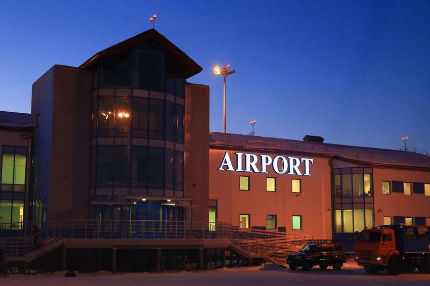 аэродром архитектура аэропорт огни здание