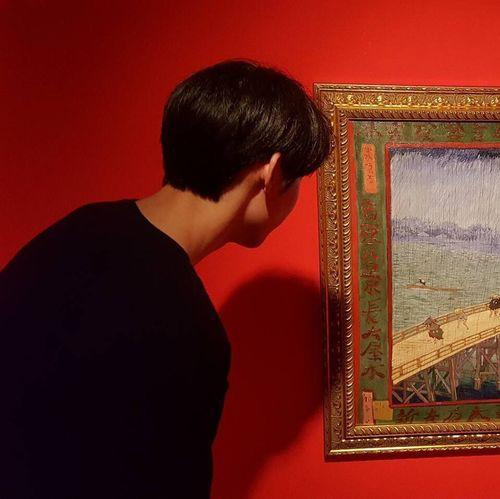 One Man Only One Person Studio Shot Vincent Van Gogh First Eyeem Photo