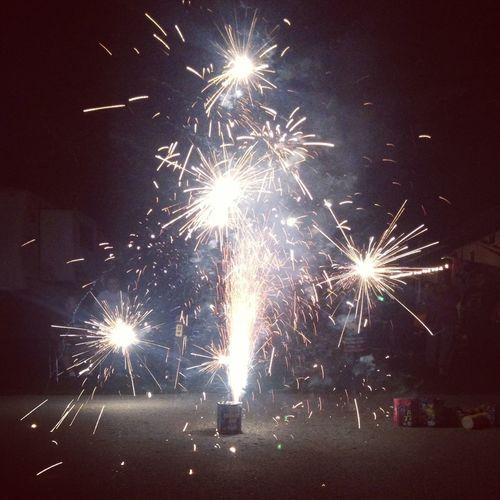Snap, crackle, pop! Fireworks