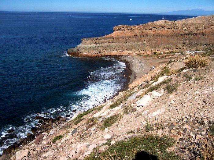 Beauty In Nature Canary Islands Coastline Grand Canaria Horizon Over Water Sea The KIOMI Collection Water