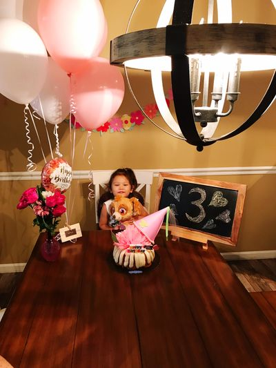 Happy birthday Happy Birthday! Child Indoors  Decoration Girls Celebration