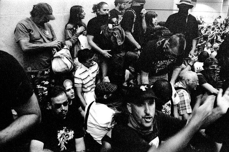 Protests at the 2008 Democratic National Convention (DNC) 2008 Democratic National Convention Black & White Film Protest Adult Adults Only Arts Culture And Entertainment Black And White Black And White Photography Blackandwhite Blackandwhite Photography Civil Disturbance Crowd Day Fan - Enthusiast Film Photography Large Group Of People Men Music Outdoors People Photographing Photography Themes Popular Music Concert Protesters Selfie Tri-x 400 Pushed