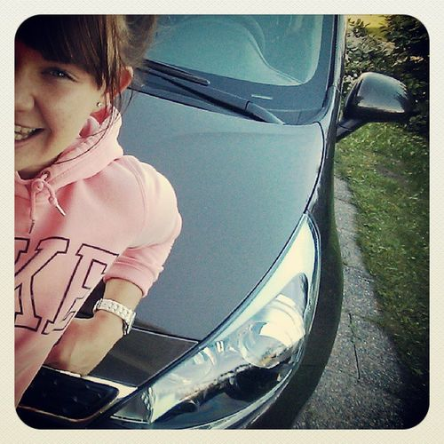 Woouu got my new car finallyyy ::) Drivinglikeacrazy