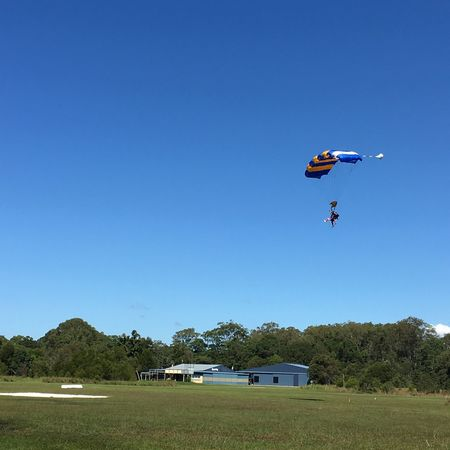Let's skydive! @Byron Bay, Gold Coast Clear Sky Blue Outdoors Skydive Parachute Activities