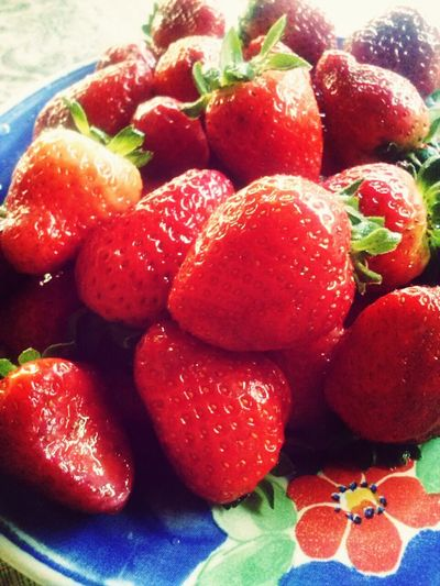 Strawberry Delicious Fruit Lips