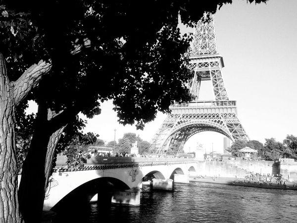 First Eyeem PhotoParis Blackandwhite City Landscape Tour Eiffel Walking Around The City  Eyem Lover Showcase March