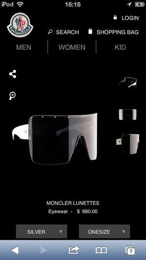 Moncler Lunettes I Love My Sunglasses.
