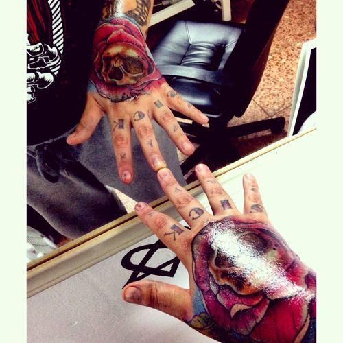 My new tattoo New Tattoo Tattoo Handtattoo