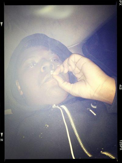 Hanging Out Smoking Kush