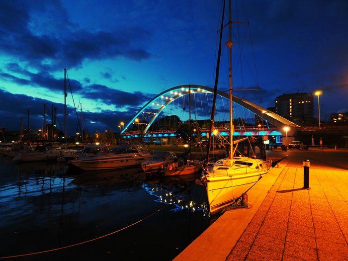 Hello World Urban Landscape Port Kolobrzeg Jacht