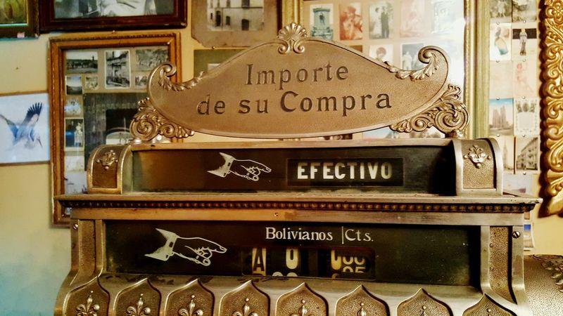 Cash Register Money Money Till Till Spanish Language Efectivos Restaurant Old Old Till Old Till Receipt Machine Old Cash Register Antique