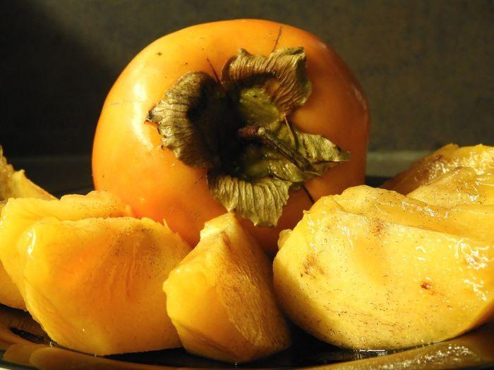Close-up of orange fruit