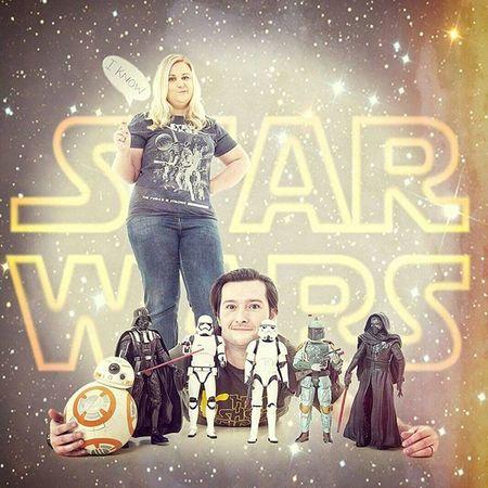 MrandMrsSparkes TenYearAnniversary Starwars StarWarsCollector Starwarsfigures Starwarsgeeks Iloveyouiknow TheSparkesPhotoshoot