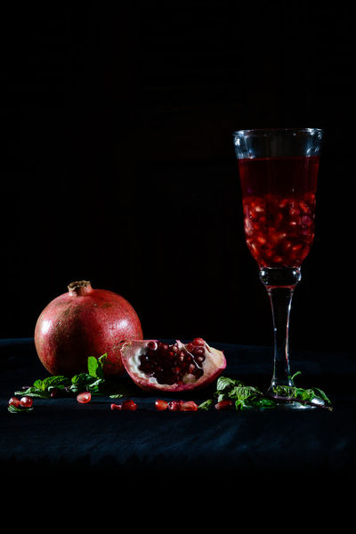 pomegranate with mint , for you my friends :) Black Background Drinking Glass Egyptian Drink Exceptional Photographs EyeEm Best Shots Soft Drink Food Food And Drink Foodphotography Freshness Fruit Healthy Eating Hello World Ment No People Pomegranate Pomegranate Juice Pomegranates  Smoothie Ready-to-eat Red Refreshment Studio Shot Wineglass Beautifully Organized Neon Life Food Stories