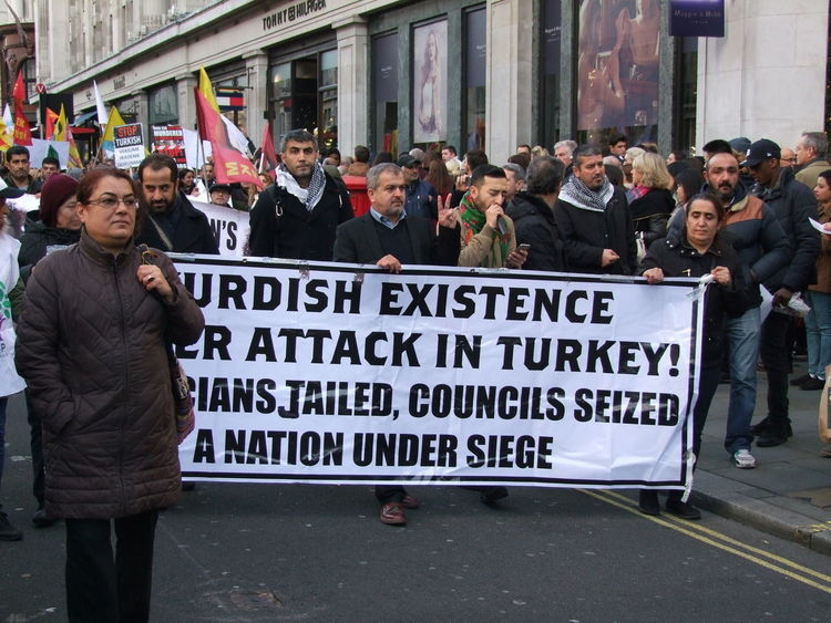Turkish Protest, Regent Street 5 November 2016 Adults Banner Banner - Sign Composition Conflict Crowd Full Frame GB Large Crowd London Many People Newsworthy Outdoor Photography Participants People Protest Protesters Rally Sign Text Turkey Turkish Uk
