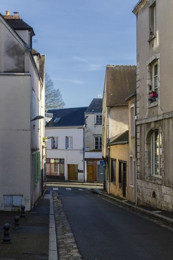 Chartres France Architecture Building Building Exterior Built Structure City Day Direction History House Long Old Buildings Outdoors Residential District Road Row House Street The Past The Way Forward Transportation Travel Destination