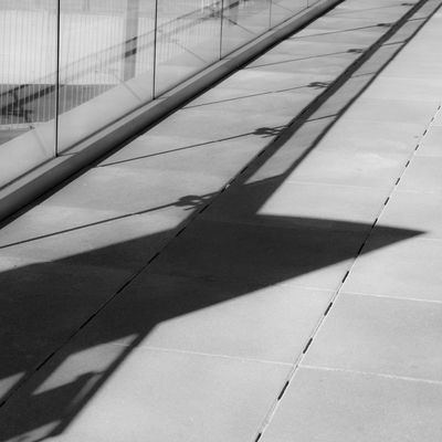 Diagonal Shadows Abstract Architecture Black And White Black And White Photography Day Diagonal Diagonal Lines High Angle View No People Outdoors Pattern Shadow Sunlight Urban Geometry Urban Lines The City Light Minimalist Architecture Minimalz