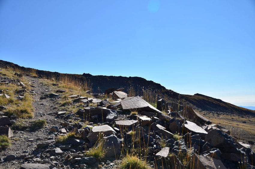 Aragat Armenia Hiking September Adventure Beauty In Nature Blue Clear Sky Day Environment Land Landscape Mount Aragat Mountain Nature No People Outdoors Scenics - Nature Sky Tranquil Scene Travel Destination W-armenien