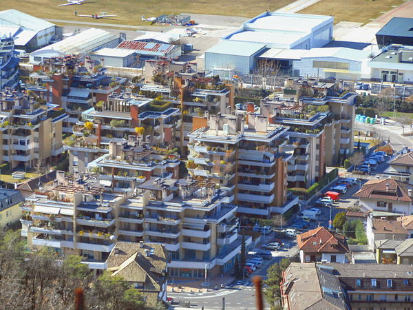 Architecture_collection City Life Cityscape High Angle View Outdoors Residential District Roof Garden Urban Geometry Urban Spring Fever View From Above Adapted To The City