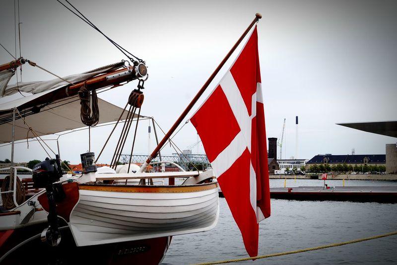 Flag Flag Of Denmark København (copenhagen) Flaga Flaga Danii Copenhagen, Denmark
