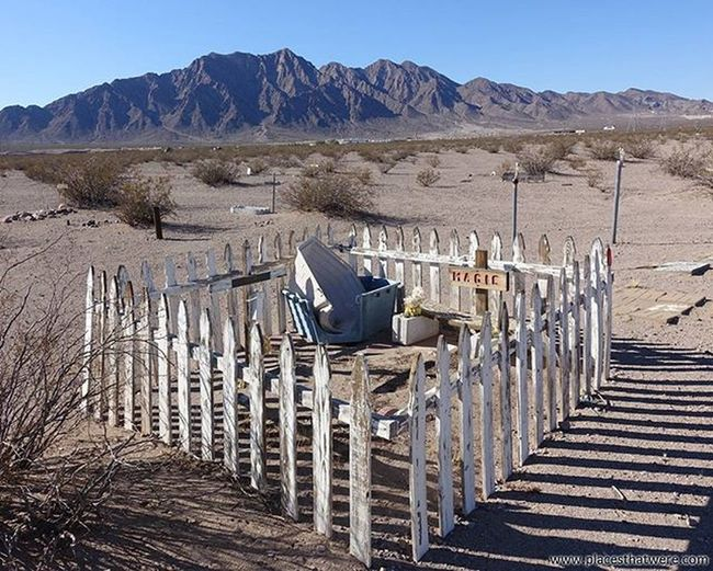 Magic's yard. for more info and photos of Boulder City Pet Cemetery, check out http://www.placesthatwere.com Abandoned Abandonednevada Abandonedplaces Bouldercity Bouldercitynevada Bouldercitypetcemetery Eldoradovalley Hauntednevada Nevada Petcemetery Petsematary Searchlightroad Urbanexploration Urbex