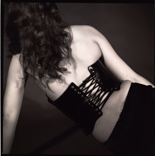 120 Film Corset Lustful Worship The Black Lens