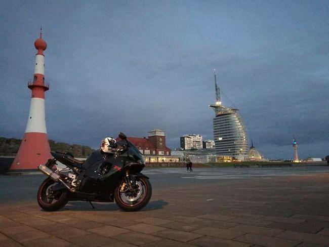 Suzuki GSXR1000 Bikes Bremerhaven Sailcity Architecture Travel Destinations History Motorcycle Building Exterior Built Structure