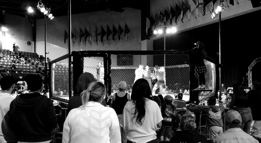 Men Large Group Of People Blackandwhite Photography Check This Out Taking Photos Hanging Out BloodLust Performance Cage Fighter  Fighter Fighting Fight Victory