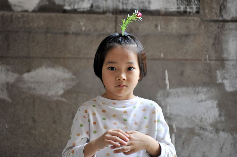 Child Portrait Childhood Children Only One Girl Only One Person People Human Body Part Day