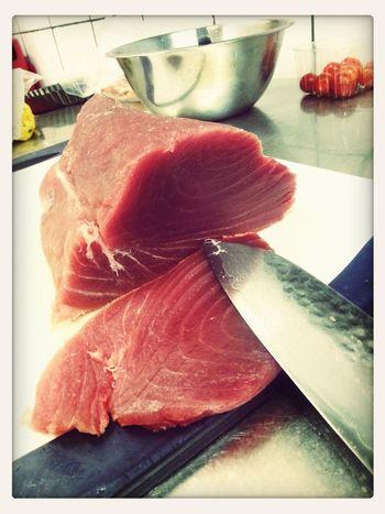 Food Porn Delicious Fisch Eating Gelbflossen Tunfisch. ♡