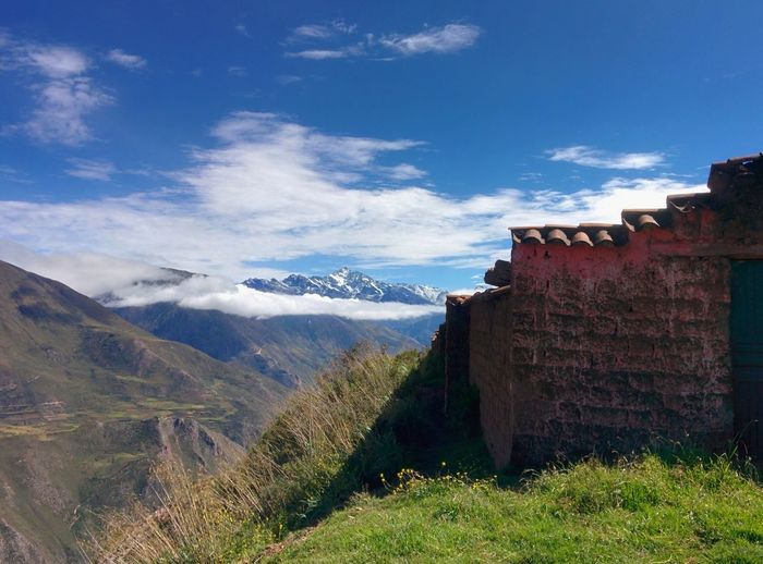 Ayni Wasi's final vitamin campaign stop. Mountain Landscape Mountain Range No People Extreme Terrain Outdoors Cloud - Sky Scenics Adventure Nature Beauty In Nature Day Cusco Publichealth Sacredvalleyhealth NGO