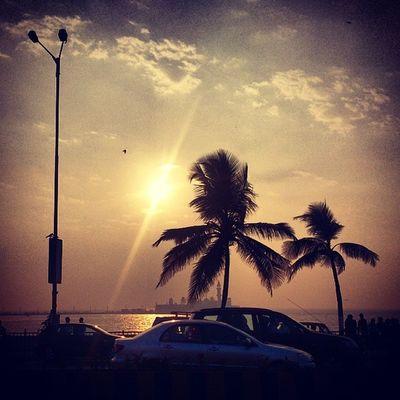The shores of Mumbai.. Hajiali