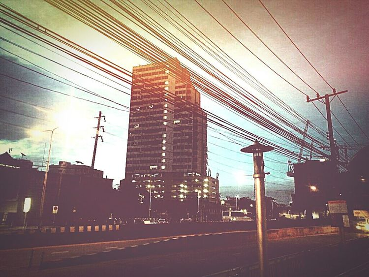 Hello city Colourful My City Buildings & Sky Roadway Roadside Feeling Free How I Feel Discover Your City Morning Light City Landscape