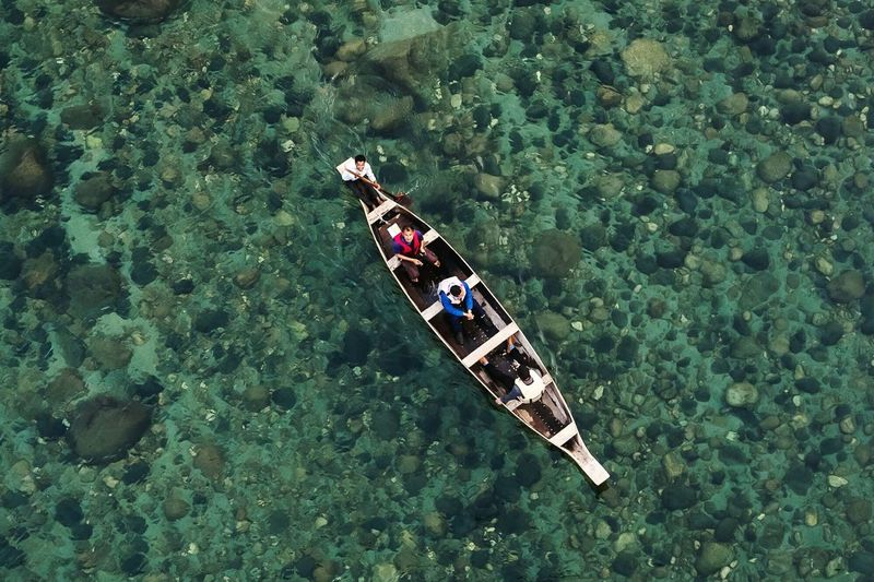Flying High Arial Photography High Angle View Nature Outdoors Beauty In Nature Day Ocean Meghalaya Northeast India