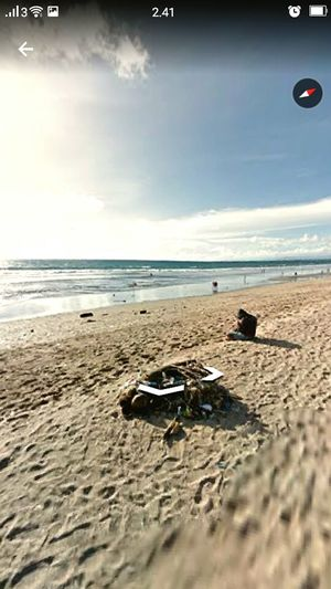 I took it from google street view Water Beach Sand Sea