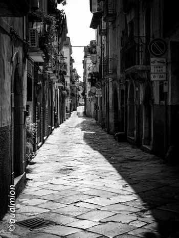 #urbanana: The Urban Playground Ancient City Cobblestone Streets Footpath Street View View Alley Arch Architectural Column Architecture Black And White City Cobblestone Direction Footpath Long Narrow Nature Old Old Buildings Outdoors Street The Way Forward Town
