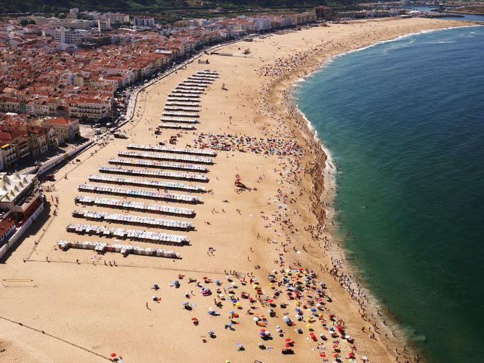 Nazare Nazaré  Nazare Portugal Praia Da Nazare Portugal Beach Seaside Holiday SIlver Coast