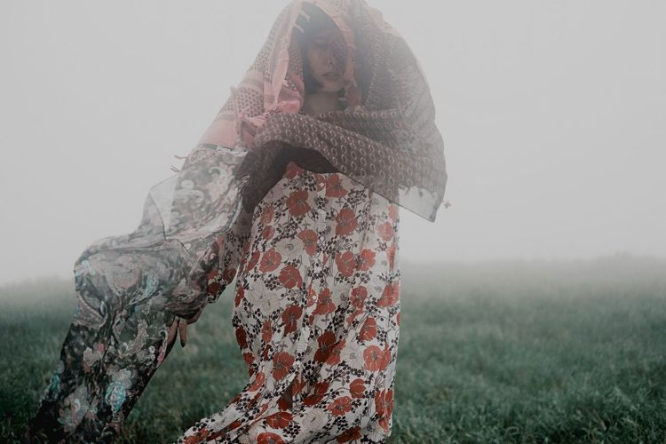 The Fashion Photographer - 2018 EyeEm Awards Field Real People Land Sky Nature Fog The Portraitist - 2018 EyeEm Awards One Person Grass Lifestyles Women Landscape Outdoors Adult