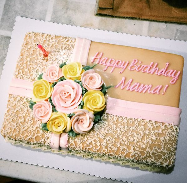 Loving you is a piece of cake ❤️ Birthday Cake Mother Family Special Moment